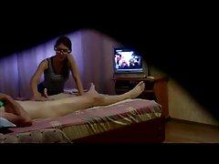 Zgodna žena da gledaš porniće online plavuša voli analni i pušenje