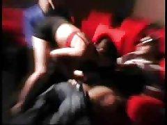 Teško porno sa čudovišta iz crtića trostruko napad svingeri